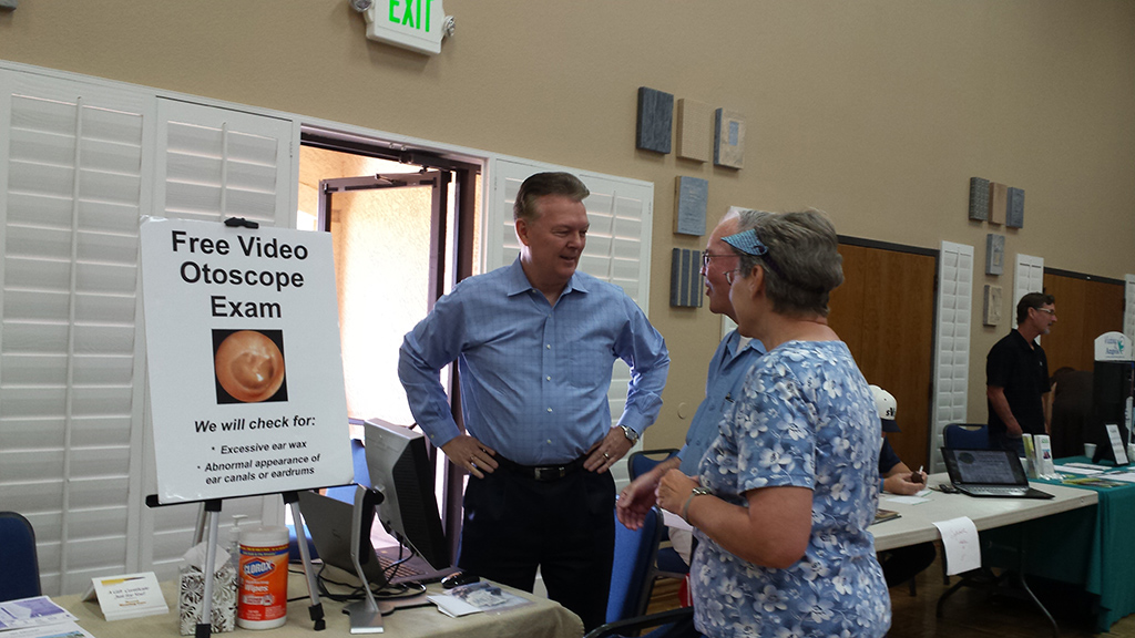 Desert Hearing Care – Community Outreach Health Fair