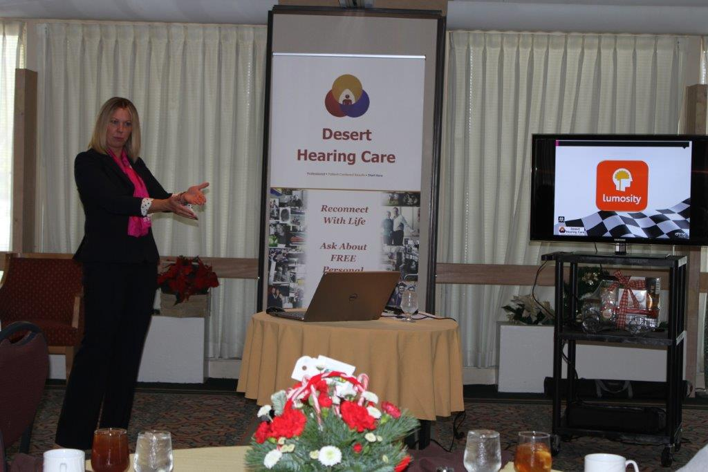 Desert Hearing Care – Community Outreach Seminar