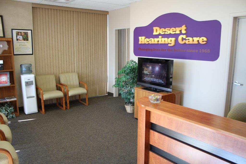 Desert Hearing Care – Sun Lakes Office Lobby