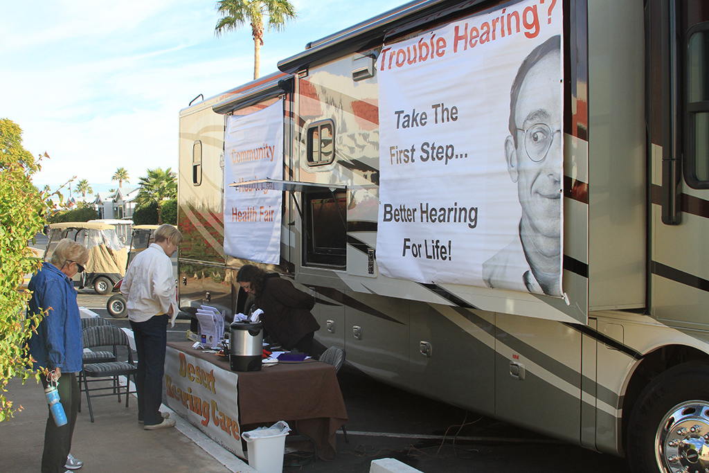 Desert Hearing Care – Community Outreach Hearing Screening