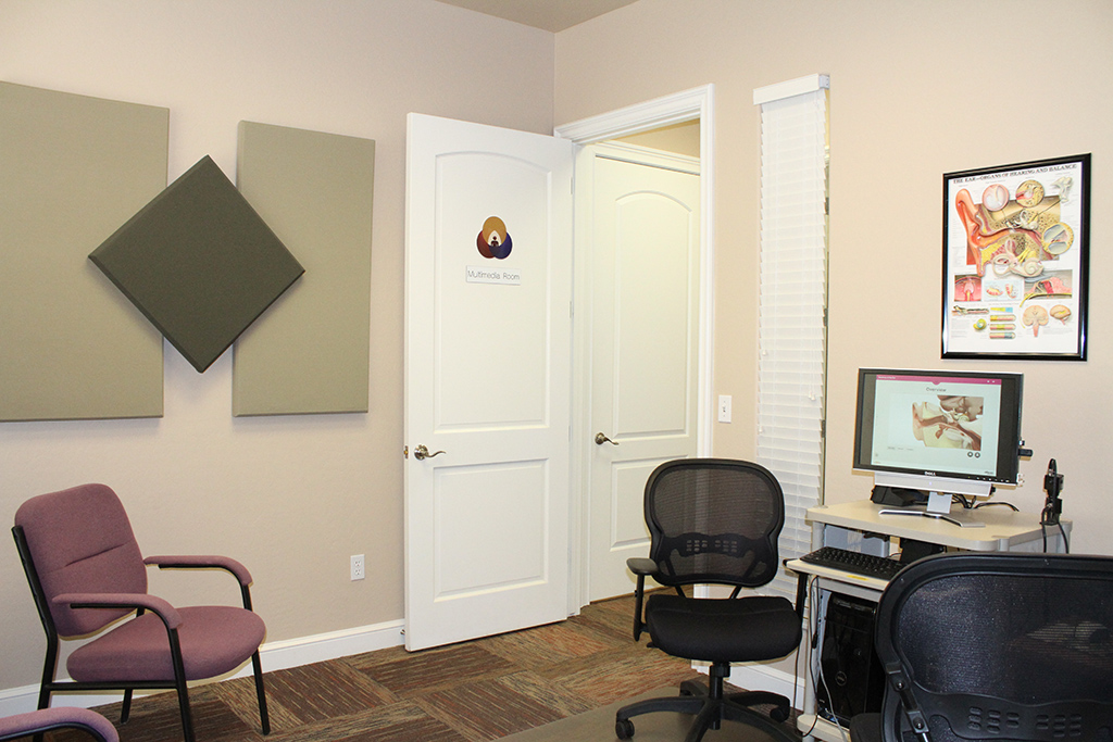 Desert Hearing Care – Mesa Office Test Room