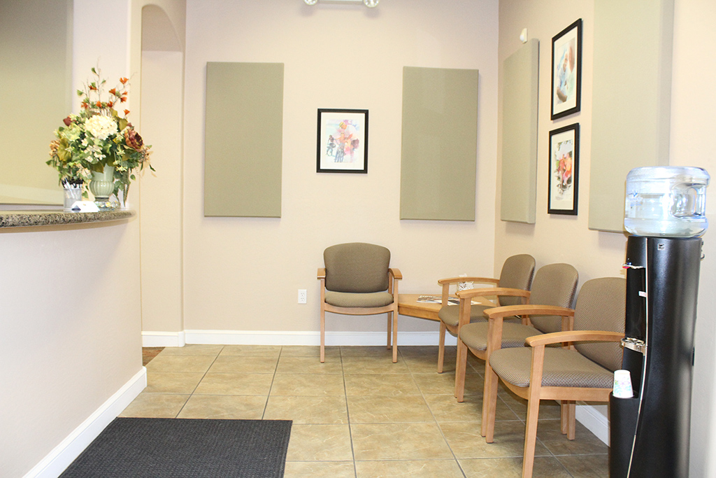 Desert Hearing Care – Mesa Office Lobby