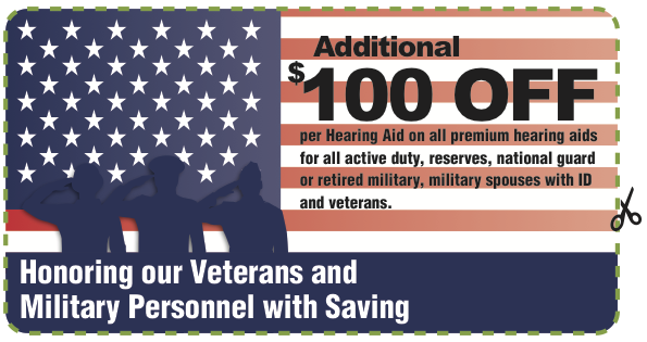Veteran and Military Discount Coupon