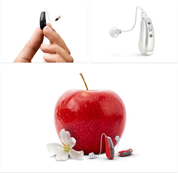 Hearing aid collage